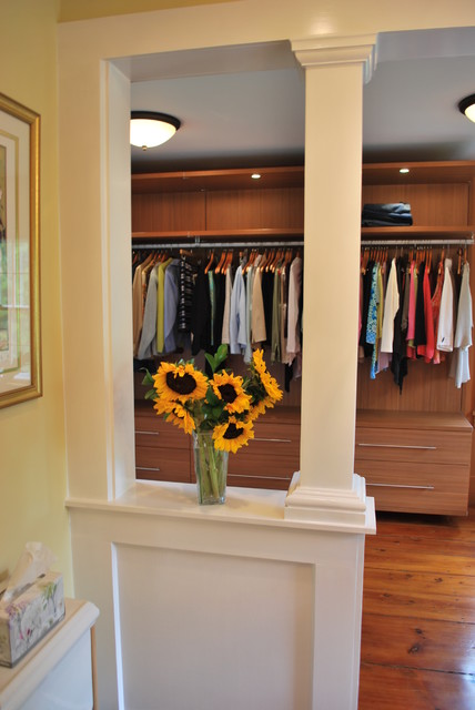 California Closets Virtuoso Style Closet  and A Linen Armoire contemporary-closet