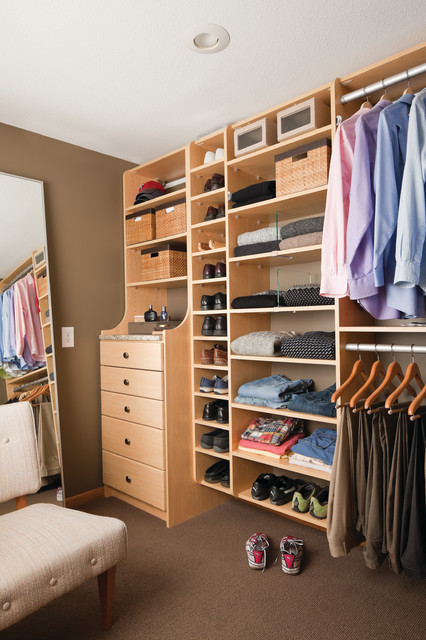 California Closets Walk-ins contemporary closet