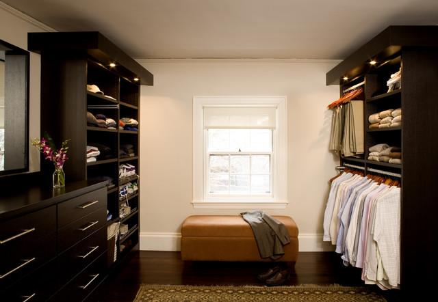 Cambridge Modern Closet contemporary-closet