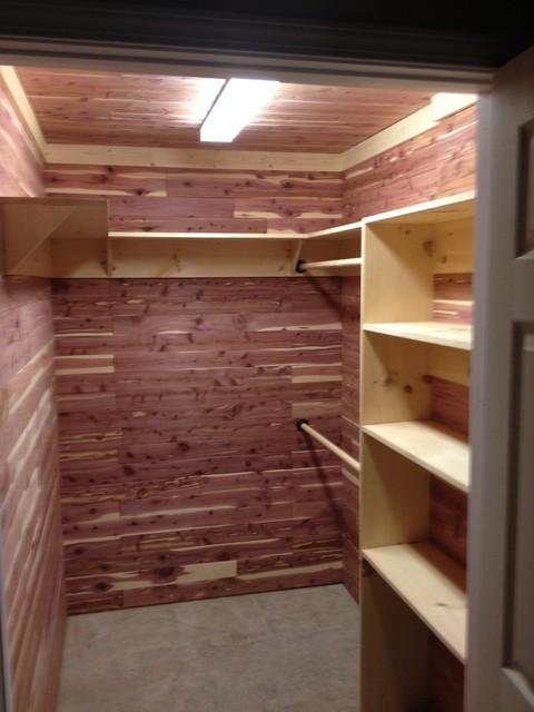 Cedar Closet Traditional Closet Atlanta By A C J Construction Amp Roofing