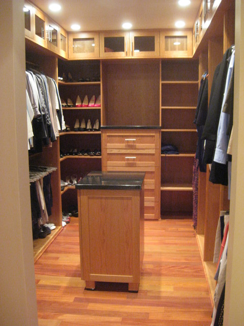 Cherry Closet contemporary closet
