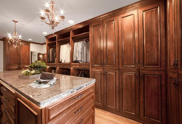 Cherry Elegance - Specialty Space - Closet traditional-closet