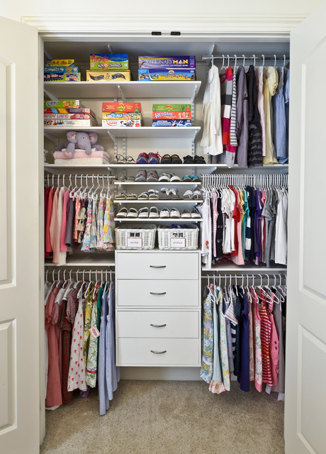 Children's Closets contemporary-closet