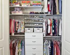 Children's Closets contemporary-closet