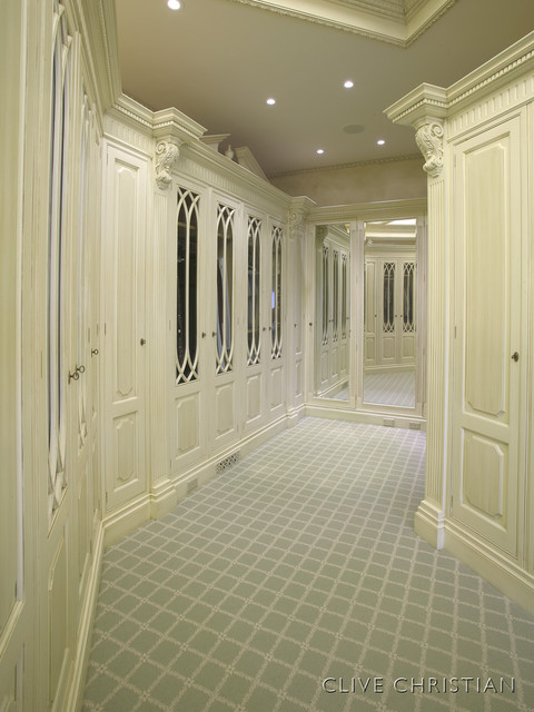Clive Christian Dressing Room (closet)  Traditional  Closet  atlanta  by Hungeling Design LLC - Clive Christian Kitchen Cabinets