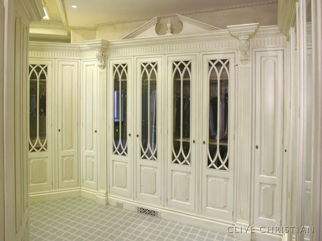 Clive Christian Dressing Room Closet Traditional Closet - Clive christian bedroom furniture