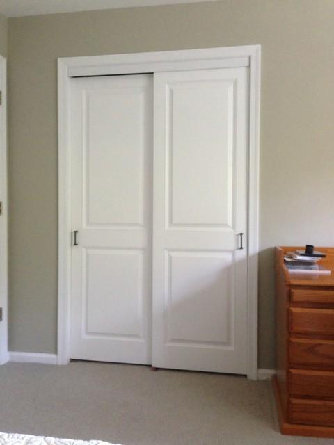 Closet doors traditional wardrobe philadelphia by kestrel shutters doors - Space saving sliding closet doors and pros and cons ...