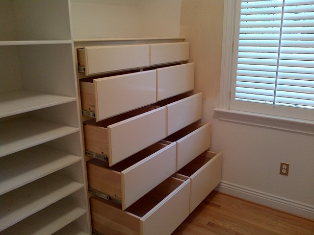 Marvelous Closet Dresser Traditional Closet
