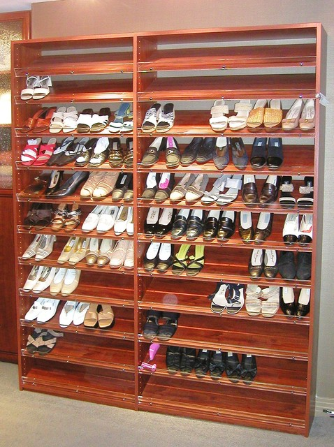 Closet Factory Shoe Storage To Die For Traditional