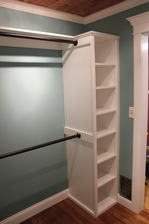 Oil rubbed bronze closet rod are there any concerns about the finish scratch - Penderie sous pente ikea ...