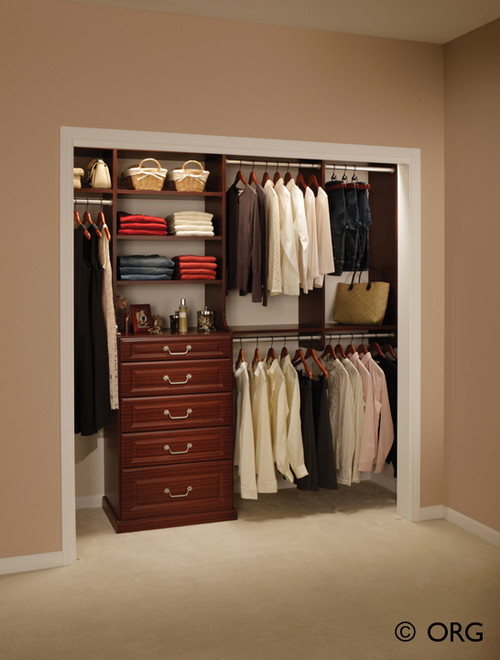 Home and garden for Ideas para closets pequenos