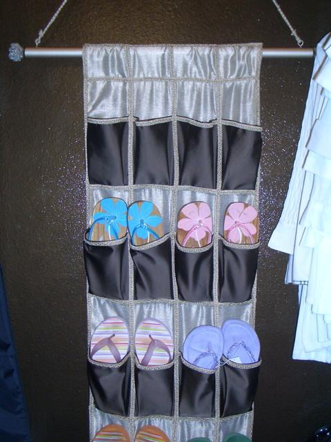 Closet Organization eclectic-closet
