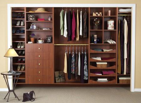 Closet Organization contemporary-closet