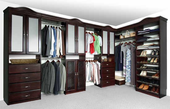 Closet Organizers and Closet Systems by Solid Wood Closets traditional