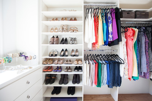 Support that finished feeling with closet organizers
