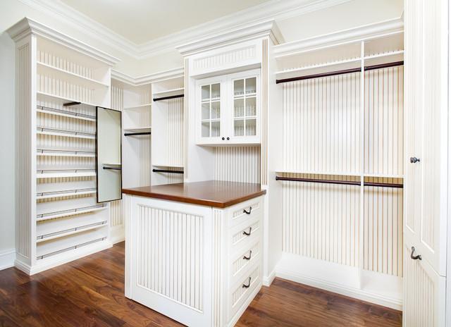 Closet Organizing Systems farmhouse-closet