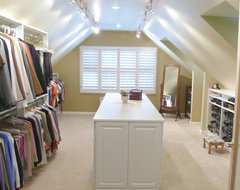 CLOSET PROJECTS COMPLETED BY Closets and Cabinetry by CLOSET CITY traditional-closet