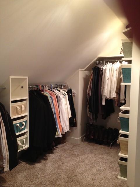 Closet Remodel Traditional Closet