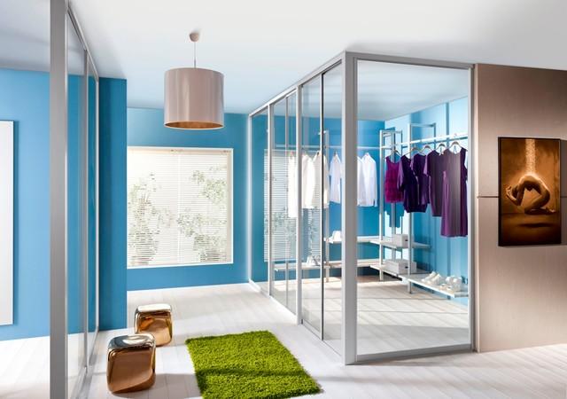 Room Closet closet room divider - contemporary - closet - toronto -