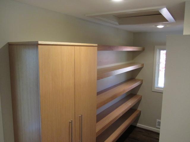 closet shelves with cabinet. Black Bedroom Furniture Sets. Home Design Ideas