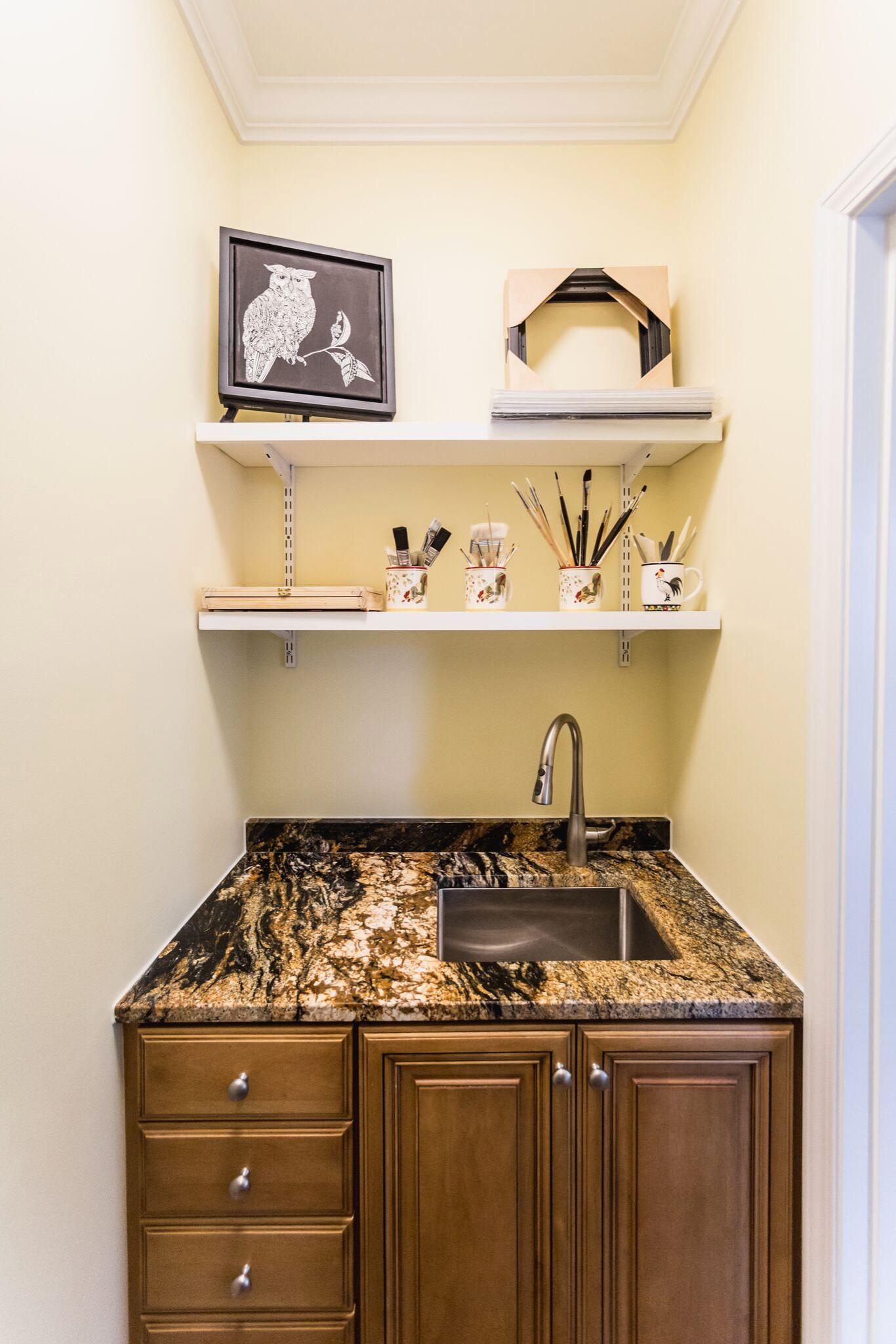 Closet Sink and storage