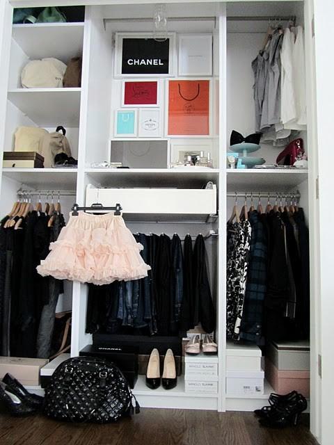 closet space eclectic-closet