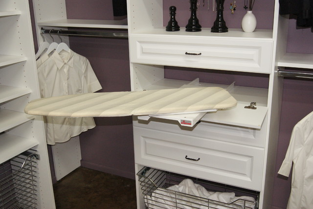 SpaceMan Home U0026 Office · Closet Designers And Professional Organizers.  Pull Out Ironing Board Closet
