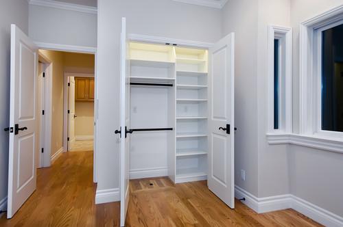 closet en una casa nueva