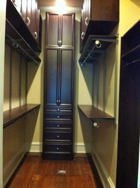 narrow closet organization 1