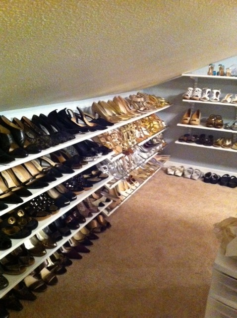 an incredible talent for finding creative, modern solutions to almost any organizational problem. She recently tackled shoe organization on her blog