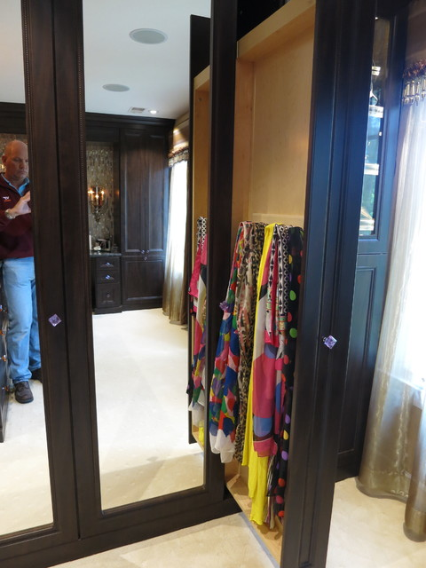 Closets,Jewelry Drawers and Cabinets traditional-closet