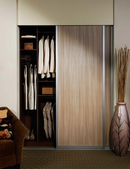 Closets Modern Wardrobe New York By Sliding Door By