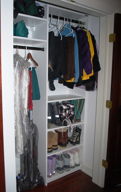 Coat Closet Modern Closet Baltimore By California