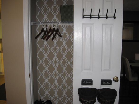 Coat Closet Organization traditional-closet