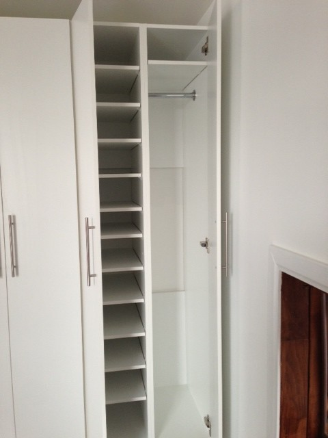 Condo Living Room Built In And Storage Unit Modern Closet Part 31