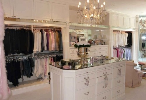 This is a beautiful and elegant closet. Could you please tell me the height  of the rods that are double hung?