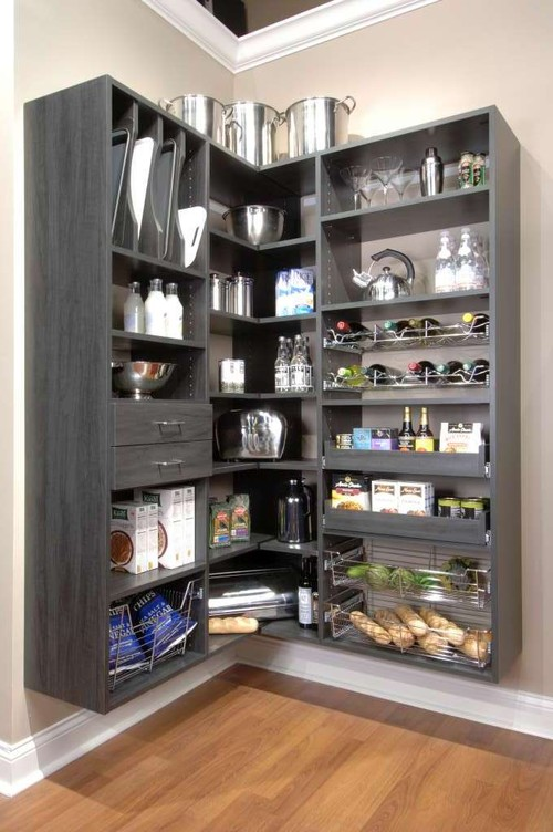 Kitchen pantry envy trying to balance the madness for Closets by design chicago