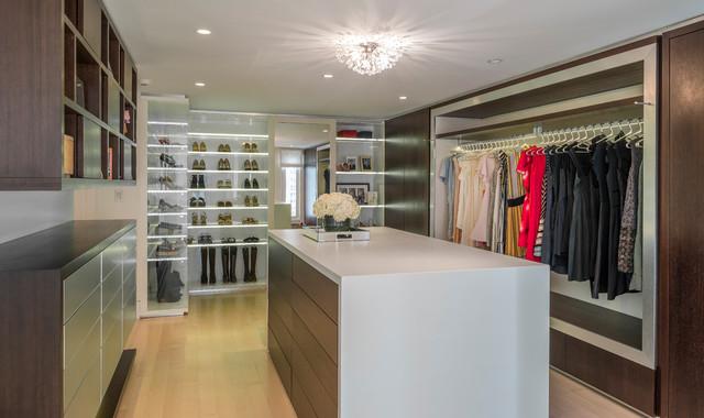 Modern Boston Contemporary Closet