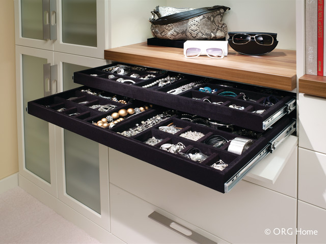 Contemporary Walk In Closet Modern Closet Dc Metro By Econize Closets