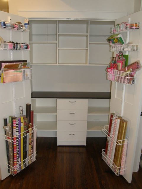 Craft Closet Traditional Minneapolis By