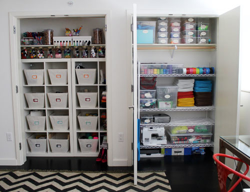 Craft Room Contemporary Closet San Francisco By Neat Method
