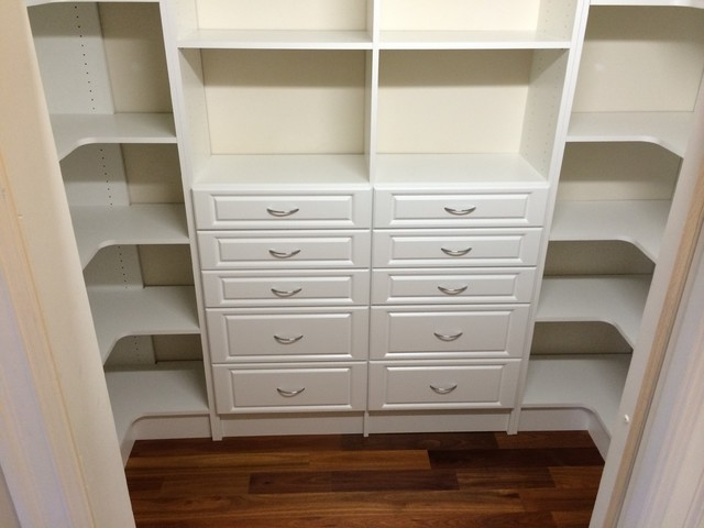 Craft Storage Room Traditional Closet Other By