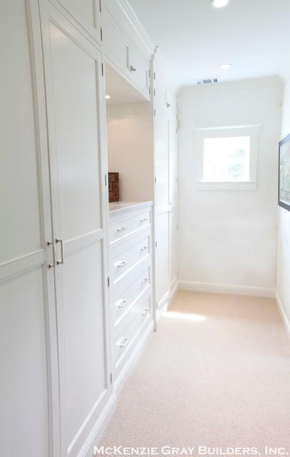 Craftsman meets Contemporary transitional-closet