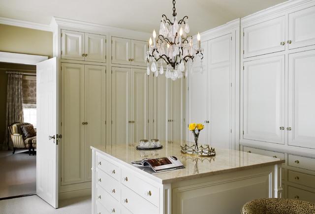 Crisp Architects traditional-closet