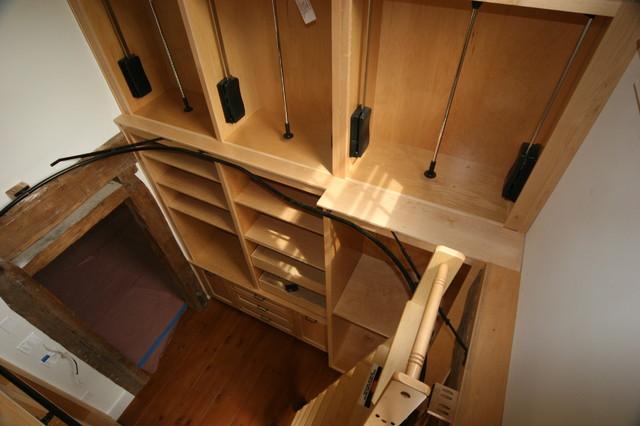 Custom 2 1 2 Story Closet Traditional Closet