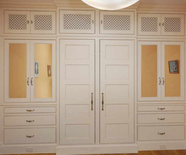 Custom Built In Master Closet Washington Dctraditional Dc Metro