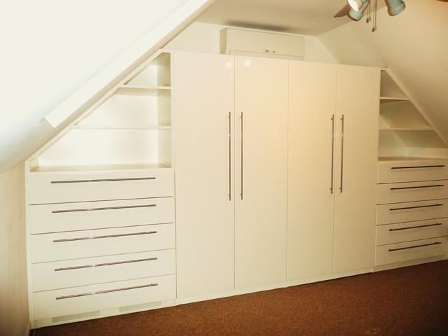 Custom Closet Built-in contemporary-closet