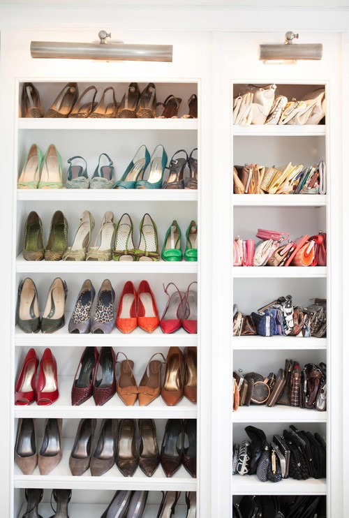 What Is Width Depth Height Of Shoe And Purse Shelves