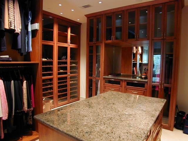 custom closet ideas and features traditional closet