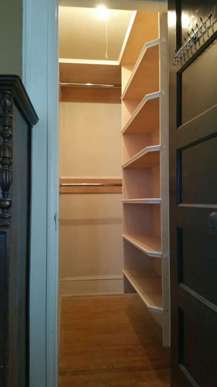 Custom Closet Shelving - Brightwaters, NY